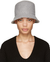 CLYDE Grey Felt Batta Hat
