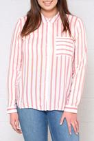 Only Candy Striped Shirt