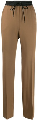 P.A.R.O.S.H. two tone flared trousers