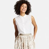 Uniqlo Women's Collared Sleeveless Blouse