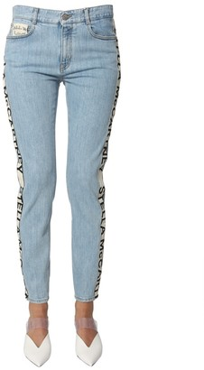 Stella McCartney Side Logo Stripe Jeans