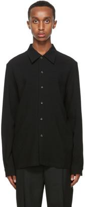 Séfr Black Wool Rampoua Shirt