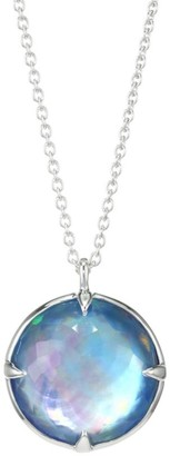 Ippolita Rock Candy Sterling Silver & Triplet Bottle Cap Double-Sided Pendant Necklace