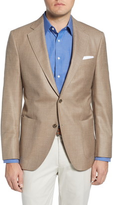 Peter Millar Classic Fit Wool Blend Sport Coat