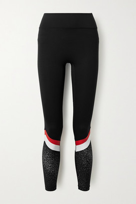 All Access Tour Printed Stretch Leggings - Black