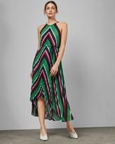 Ted Baker Directional Stripe Maxi Dress