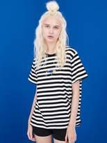 Unisex Lure Stripe Ss T-shirt Black