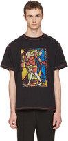 J.W.Anderson Black Stain Glass T-Shirt
