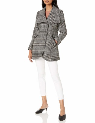 French Connection Women's Tulip Hem Coat