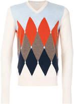 Ballantyne diamond print sweater