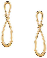 Anne Klein Infinity Drop Earrings