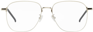 Saint Laurent Gold SL 391 Wire Glasses