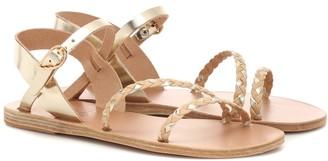 Ancient Greek Sandals Afrodti Braids leather sandals