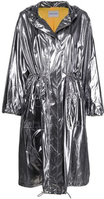 Stand Studio Metallic Raincoat