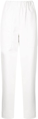 Tibi Faux Leather Trousers