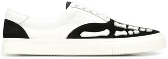 Amiri Skel Toe lace-up sneakers