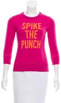 Kate Spade Wool Graphic Print Sweater