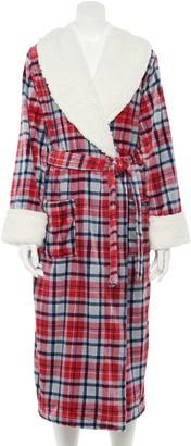 Sonoma Goods For Life Petite Plush Long Robe