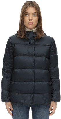 S Max Mara Hooded Nylon Down Jacket