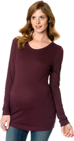 A Pea in the Pod Long Sleeve Maternity T Shirt