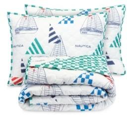 Nautica Sailboat 2-Piece Twin/Twin Xl Quilt Set Bedding