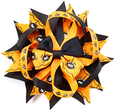 Beary Basics Black & Orange Spider Hair Clip