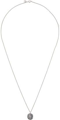 Tom Wood Coin sterling silver necklace