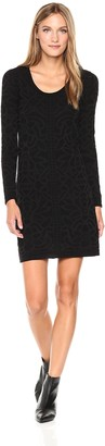 M Missoni Women's Solid Lace W/Borders Dress
