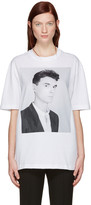 Raf Simons White Robert Mapplethorpe Edition david Byrne T-shirt