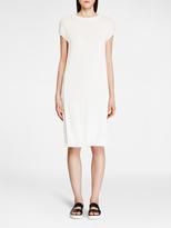 DKNY Pure Sleeveless Ribbed Dress