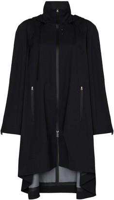 Low Classic Hooded Zip-Up Raincoat
