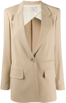 Alysi Single Button Blazer
