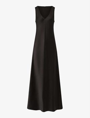 Joseph Daris sleeveless silk maxi dress