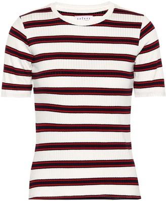 Velvet Kay striped T-shirt