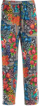 Versace Pants Elastic Waist W/side Bands