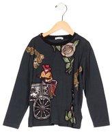 Dolce & Gabbana Boys' Sicilian Western Crew Neck Shirt