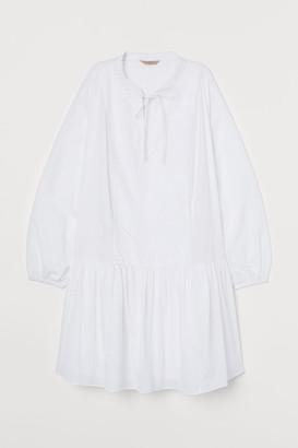 H&M H&M+ Cotton Tunic - White