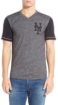 Red Jacket Men's 'New York Mets - Onyx' Trim Fit V-Neck T-Shirt