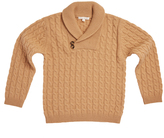 Marie Chantal BoysShawl Neck Cashmere Sweater