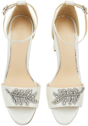 Monsoon Florence Embellished Bridal Sandals - Ivory