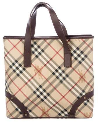 82dc83ca027 Burberry Check Tote Bags - ShopStyle