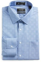 Nordstrom Men's Big & Tall Smartcare(TM) Wrinkle Free Classic Fit Check Dress Shirt
