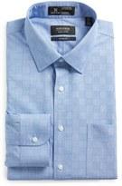 Nordstrom Men's Smartcare(TM) Wrinkle Free Classic Fit Check Dress Shirt