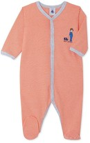 Petit Bateau Baby boys milleraies striped sleepsuit
