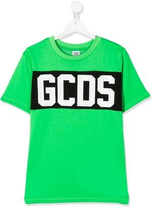 Gcds Kids logo print T-shirt
