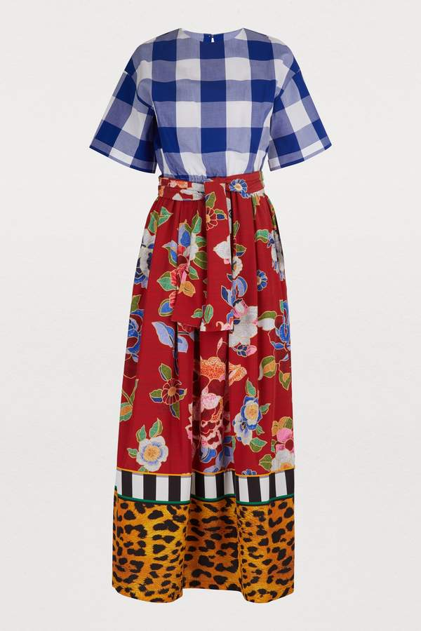 Stella Jean Short-sleeved dress
