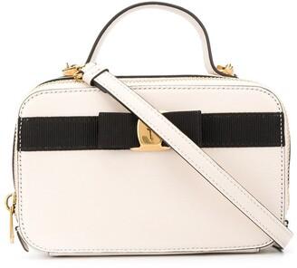 Salvatore Ferragamo Vara mini leather tote bag