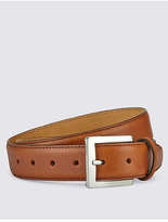 M&S Collection Square Buckle Leather Belt