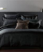 Donna Karan Home Reflection Ebony Full/Queen Duvet Cover
