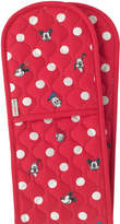 Cath Kidston Mickey and Friends Button Spot Double Oven Glove